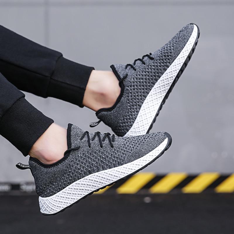red Chaussures Respirant Hommes Légères Mode Sport D'été Nouveaux De Plat up 5 Maille Confortable Black 2018 Lace gray Mesh tqnUFWxW