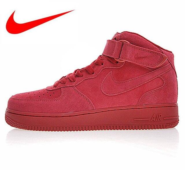 52b9fa521b Original Nike Air Force 1 Mid AF1 Men s Skateboarding Shoes