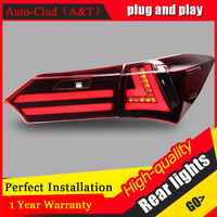 AUTO PRO Car Styling For Toyota Corolla 2014 2015 Led Tail Lights New Altis Rear Lights