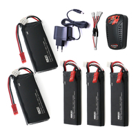 5pcs Hubsan X4 Batteries H502S RC 610mAh Lipo 7 4V RC Drone Battery 15C 4 5Wha