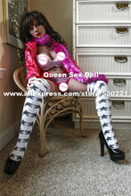 NEW 148CM Top quality lifelike silicone sex dolls vagina real pussy, Europe face black love doll, adult real doll sex toy