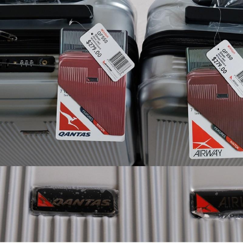 สไตล์เรียบง่ายขนาดใหญ่ 20/24/28 นิ้วขนาด Ultralight คุณภาพสูง PC Rolling กระเป๋าเดินทางยี่ห้อ Travel กระเป๋าเดินทาง-ใน กระเป๋าเดินทางแบบลาก จาก สัมภาระและกระเป๋า บน   2