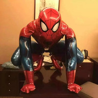 spiderman balloons inflatable helium foil birthday party decorations supplies superhero avengers balloons for modeling toys