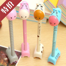 special offer Korean cartoon stationery donkey standing office creative advertising ball point pen