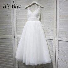 كاحل YiiYa الرقبة فستان