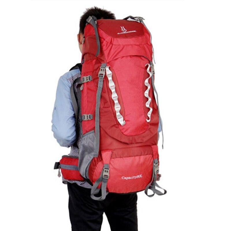 80L grande capacité alpinisme chasse voyage escalade Nylon étanche sac à dos Molle sacs à dos avec sac à cadre interne BD39 - 6