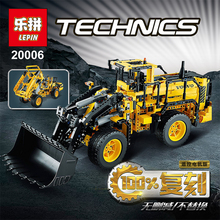 LEPIN 20006 technic series 1636pcs Volvo L350F wheel loader Model Building minifigures Blocks Bricks boy gift car Toy 42030