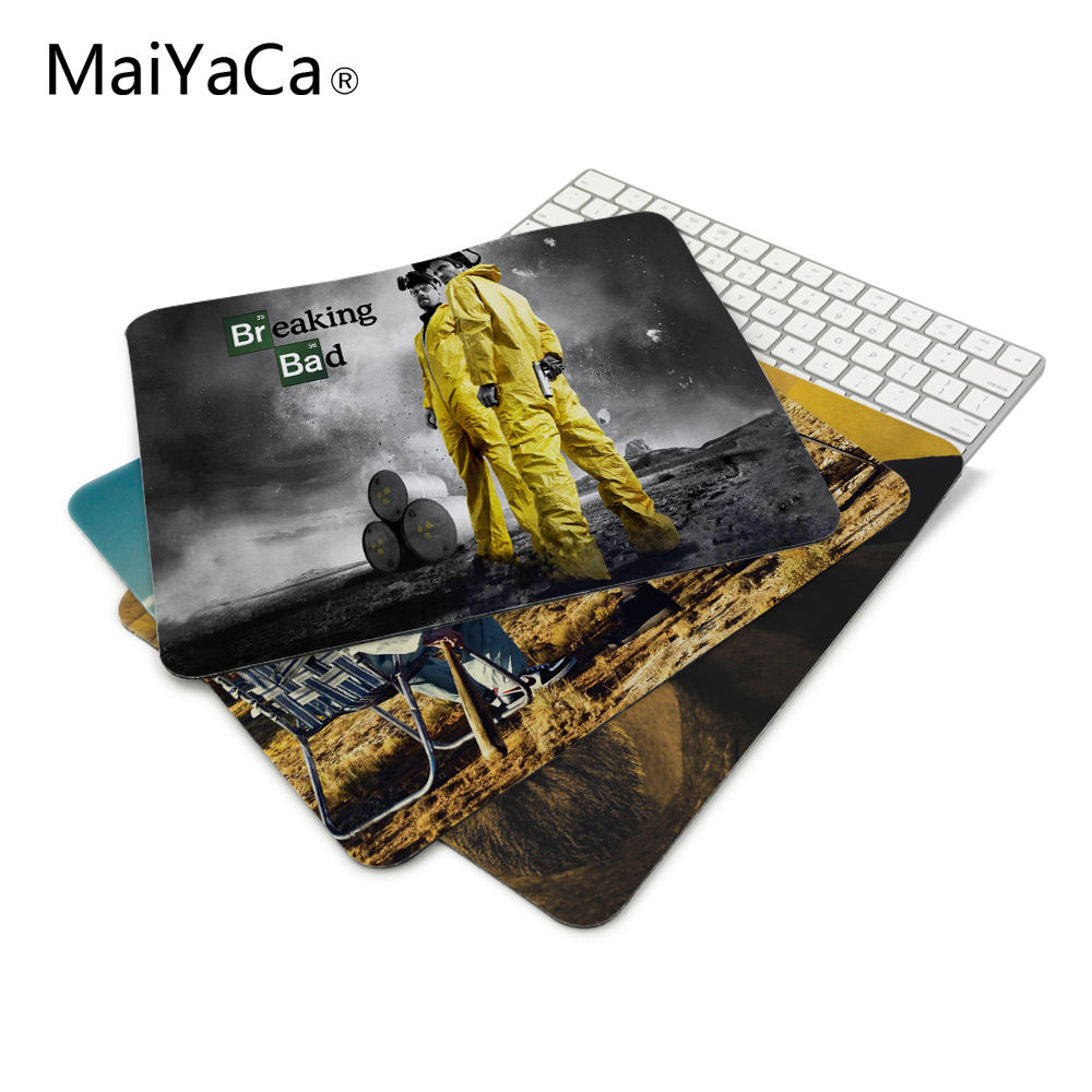 MaiYaCa Breaking Bad Mouse Pads Computer Gaming Mouse Mat 18*22cm 20*25cm 25*29cm optical mousepad notebook mice pad
