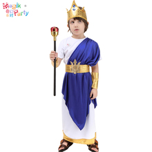 Child halloween costume cosplay clothing-King Neptune