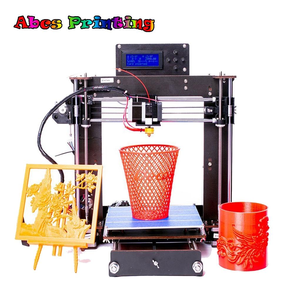 2018 NEW 3D Printer Part Prusa i3 Reprap MK8 DIY Kit MK2A Heatbed LCD Controller Imprimante 3D