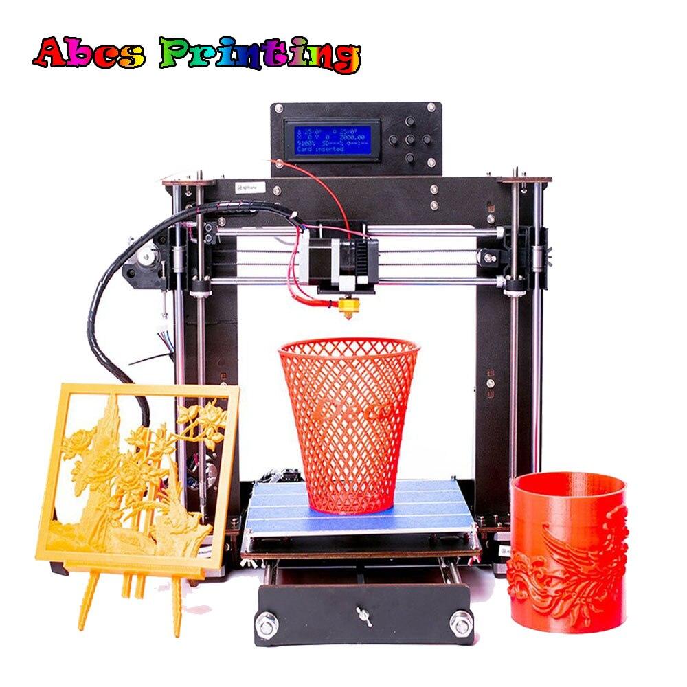 3D Printer Prusa i3 Reprap MK8 MK2A Heat bed LCD Screen Imprimante impresora 3d Drucker