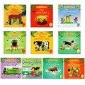 15 pçs/set 15x15 cm Melhor famosa História de Livros Ilustrados Para Crianças E Bebê Inglês Série Contos De Criança livro de História de Fazenda