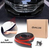 US On Sale 2 5M Car Front Bumper Body Spoiler Skirt Rubber Protector Lip Splitter