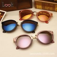 font b Women b font Sunglass Round Colorful Sun Glasses For font b Women b