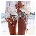Vintage talla Metal cadena cinturones para para Ceintures damas mujeres cinturones para el vestido Cinture Donna Beach Wear decoración