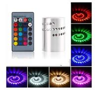 led Colorful Wandlamp and RGB Spiral Hole LED Wall Light  With Remote Controller|LED Indoor Wall Lamps| |  -