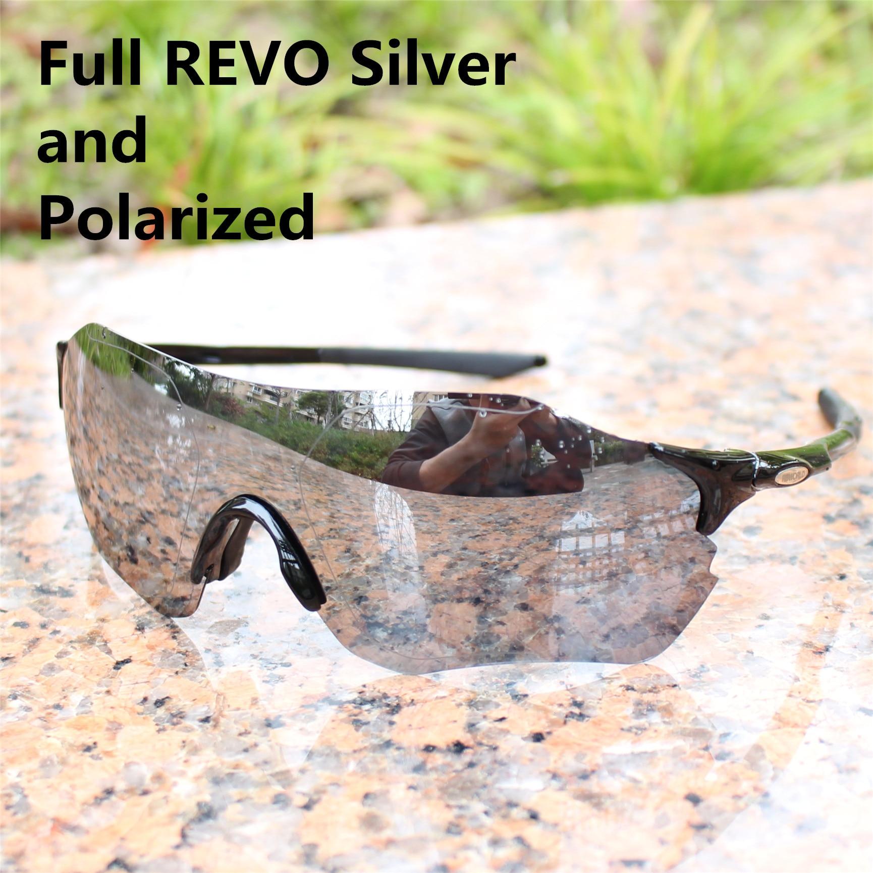 d134c2947e Evzero color lente polarizada TR90 gafas de deportes de los hombres  bicicleta de carretera de montaña MTB ciclismo gafas de sol corriendo de  pesca