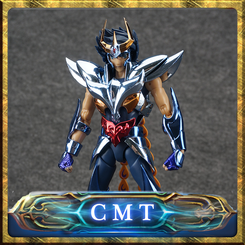 CMT Aurora Model Cs Model Metal Armor Saint Seiya Cloth Myth EX Ikki Phoenix Final V3 Action Figure cmt aurora model cs model saint seiya oce ex libra dohkor action figure cloth myth metal armor