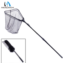 Maxcatch New Folding Carp Fishing Net Landing Net with Telescoping Handle