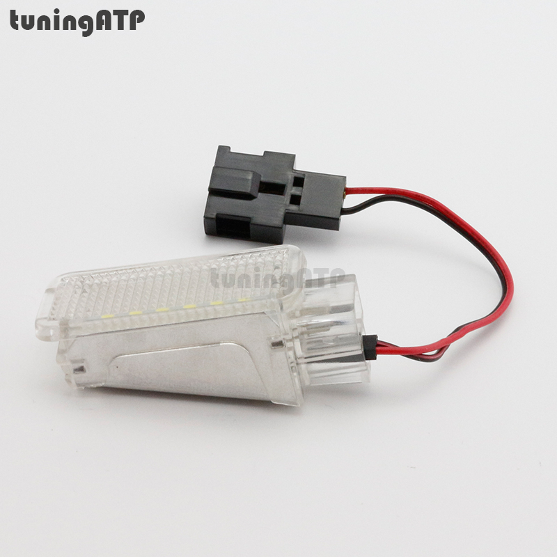 1x LED Luggage Compartment Trunk Boot Light Module for SEAT Leon Mk3 5F for volkswagen passat b6 b7 b8 led interior boot trunk luggage compartment light bulb