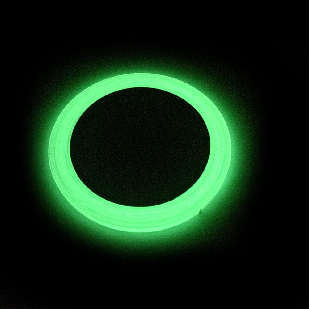 10m*5mm PET Luminous Tape Night Vision Stripes Glow Wall Sticker Safety Security Home Decoration Warning Stickers image