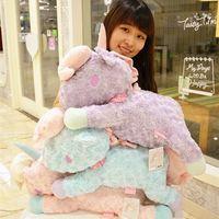 New Little Twin Stars Pink Blue Purple Unicorn Pillow Cushion Plush Toy 55CM Gift Large