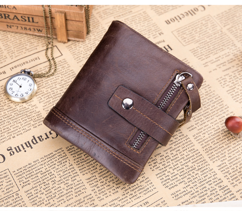 Men's soft leaher wallet