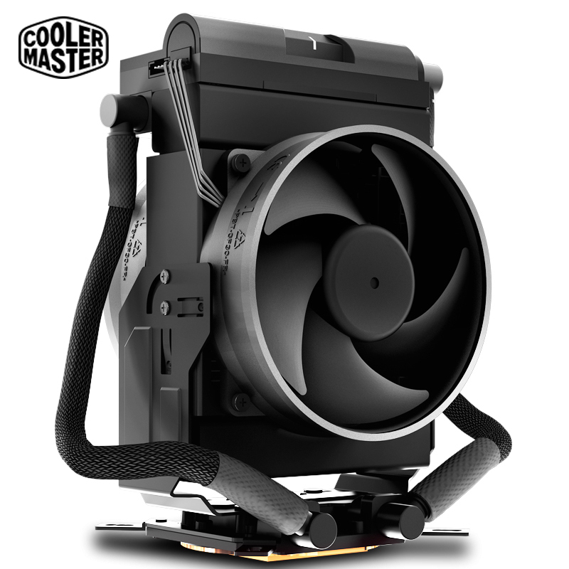 Cooler Master MASTERLIQUID MAKER 92 water Cooling CPU cooler Air and Liquid Compact CPU Cooling fan For Intel 2066 2011 115x cooler master 240 cpu liquid cooler two 120mm quiet fan compatible intel 2066 115x amd am4 cpu water cooling fan cooler