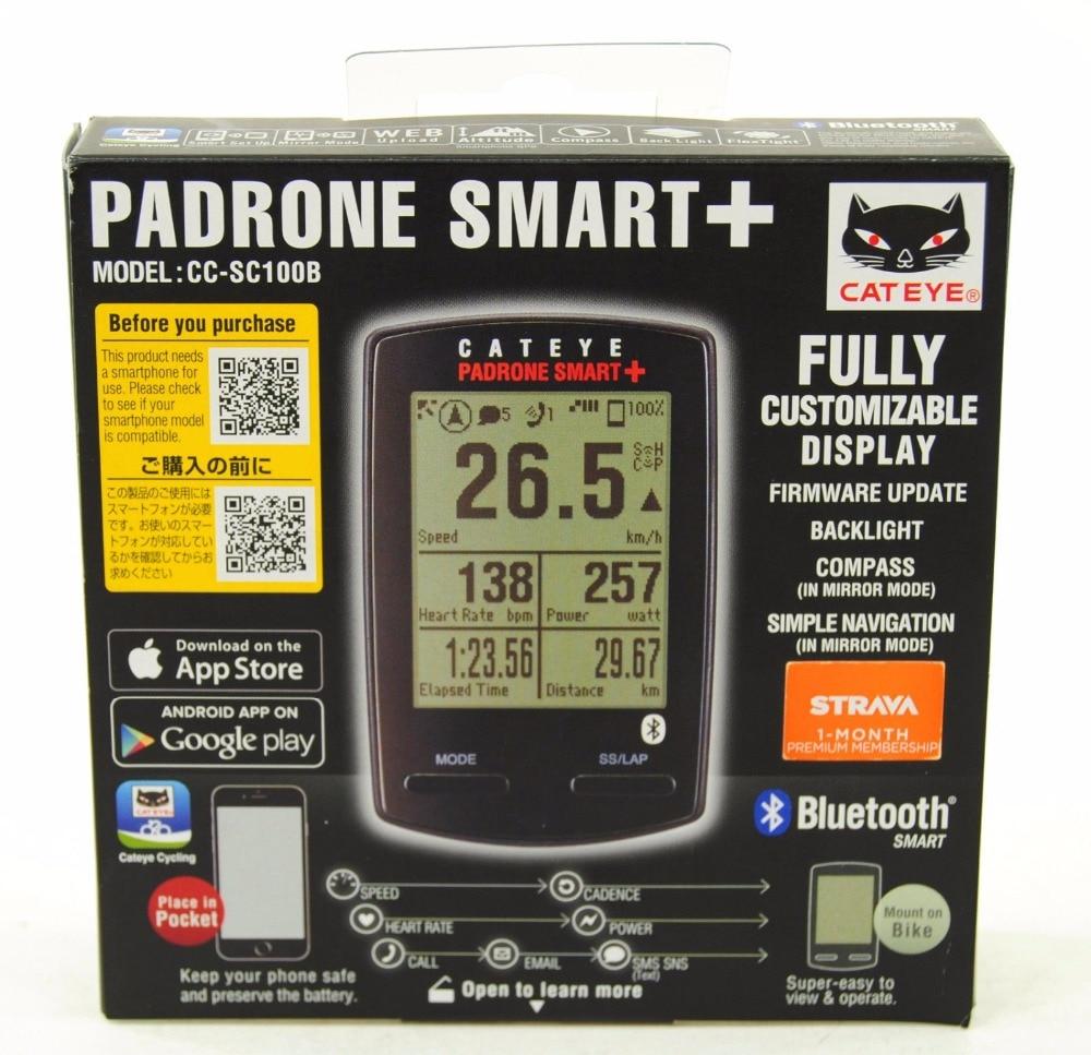 Cateye Padrone Smart + Più Il Tasso di Velocità di CC-SC100B Del Calcolatore Del Ciclo