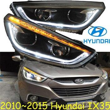 2010~2015y car bumer head light for Hyundai IX35 headlight Tucson car accessories LED DRL HID xenon fog IX35 headlamp