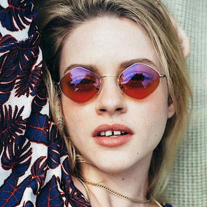 DIDI Rhombus Triangle Kleine Sonnenbrille Frauen Männer Transparent - Bekleidungszubehör - Foto 6