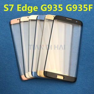 Image 3 - Replacement External Glass For Samsung Galaxy S7 Edge G935 S6 Edge G925F LCD Display Touch Screen Front Glass External Lens