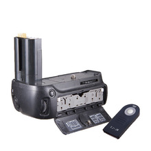 Vertical Battery Grip for Nikon D90 D80 MB-D80 DSLR cameras + IR Remote ML-L3