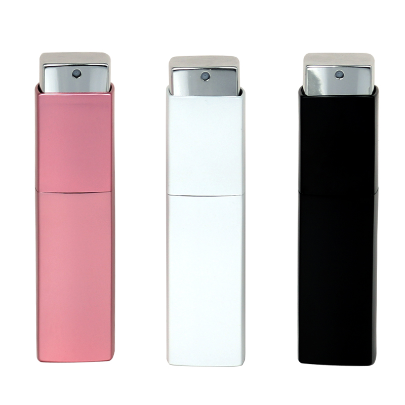 New Style 20ML High Quality Can Be Rotated Portable Aluminum Perfume Bottle With Atomizer Empty Parfum Case With Spray for Lady iwona red 24 inches