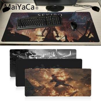 Maiyaca sekiro game1 de ratón de goma Durable escritorio Mousepad gran Lockedge...
