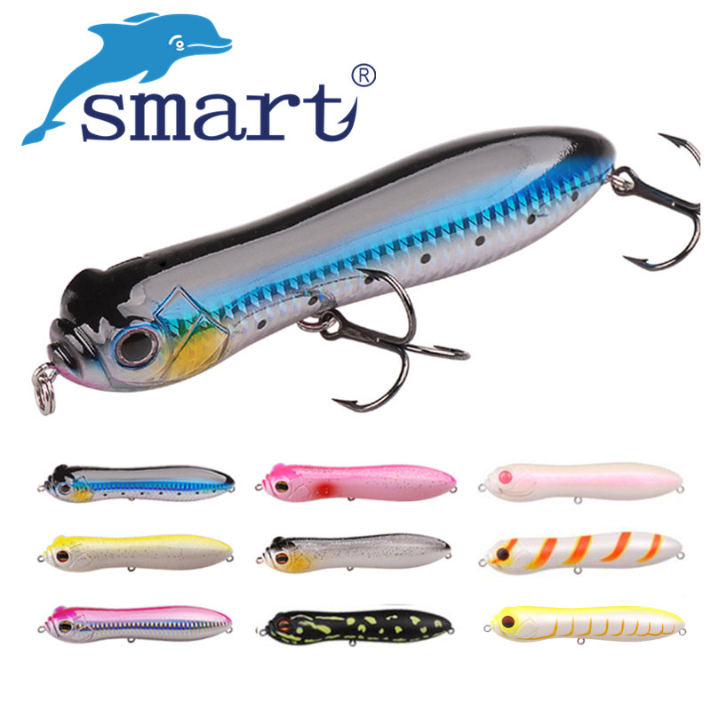 SMART Pencil Bait 130mm30g Top Water Fishing Lure Iscas Artificial Para Pesca Leurre Peche Souple Fish Feeder цена