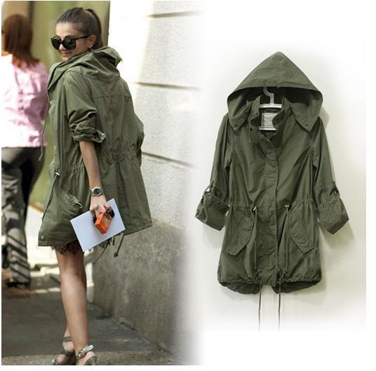 Thin Parka Jacket | Fit Jacket