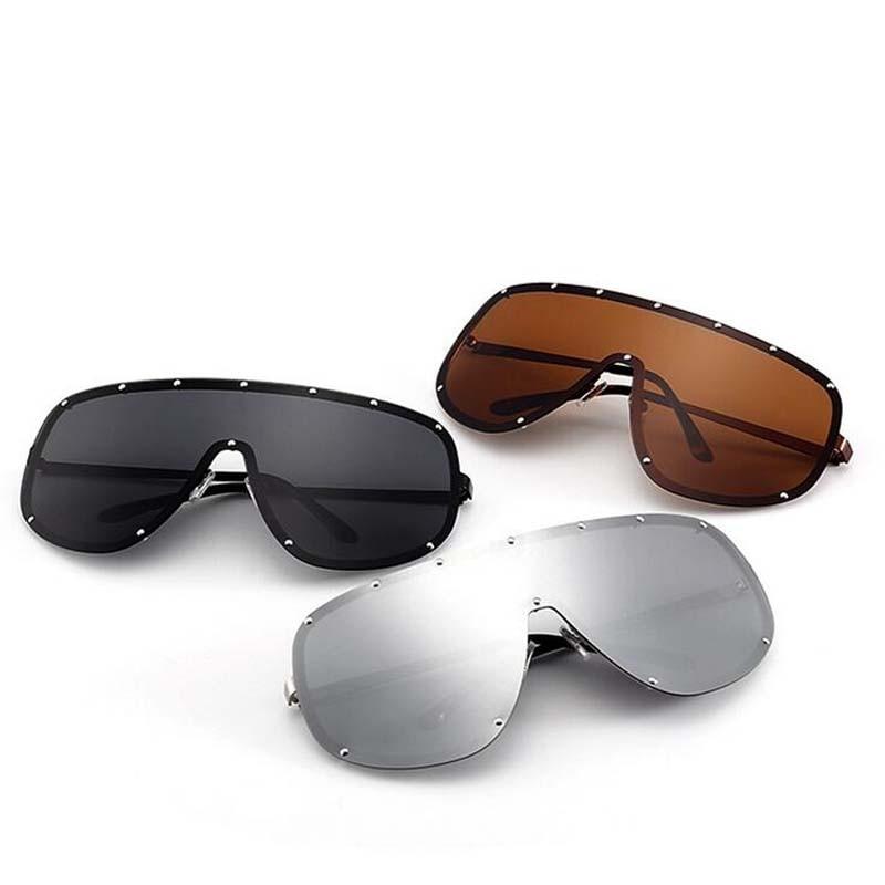 5b8e6e70773 Super Big Frame Polarized Sunglasses Men Classic UV400 Trend Stars Wear Sun  Glasses Women Large Frame Outdoor Sunglass Goggles-in Sunglasses from  Apparel ...
