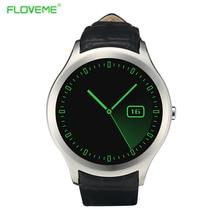 FLOVEME Mode Smart Uhr X7 Für Android IOS Unterstützung SIM Karte Intelligente Armband Am Handgelenk Antwort Dfü Anrufen Reloj Smartwatch