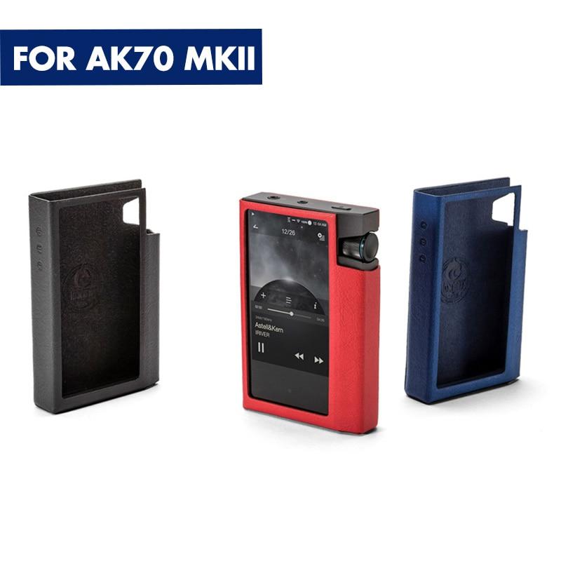 IRIVER Astell&Kern AK Jr AK100II AK120II ak70 AK240 AK70 MKII SP1000 Original leather cover Case slim Protection holster