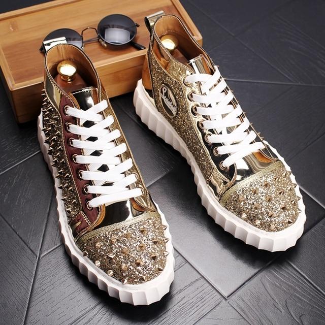 Punk High Top Hip Hop Sneakers 4