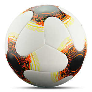 Image 4 - كرة القدم الرسمية حجم 5 حجم 4 بو الجلود فريق الرياضة بولا دي futebol المنافسة كرات التدريب دعم كرة القدم المخصصة