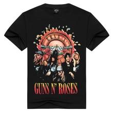 Summer Men/Women guns n roses t shirt Summer Tops Tees GnR Rock T-shirt Men loose t-shirts Fashion Tshirts Plus Size