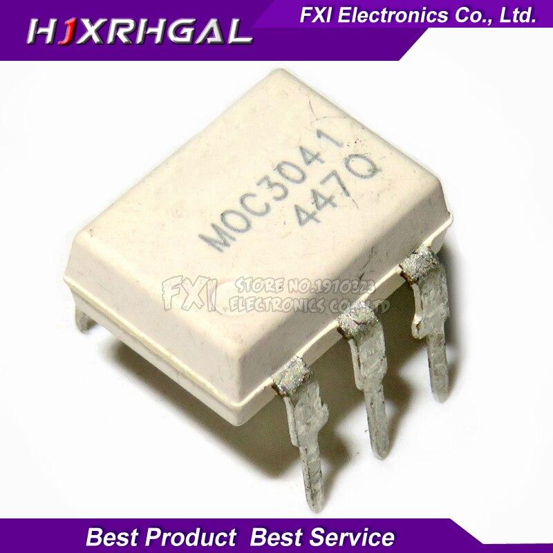 10PCS MOC3041 DIP6 DIP Optocoupler New Original