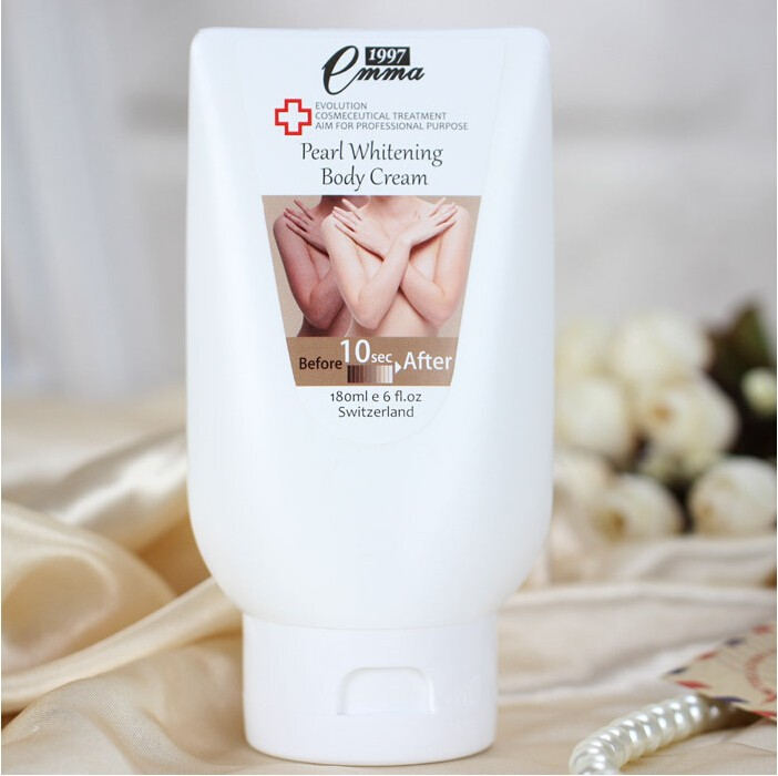 Whitening Body Cream 10 second Instantly whitening Body Lotion Skin Care Moisture for whole body 180ML Free Shipping 9