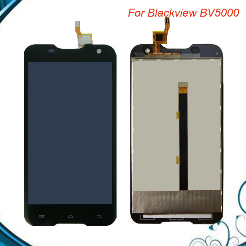 100% Tested For Blackview BV5000 LCD Display + Touch Screen 1280X720 5.0 inch Assembly For Blackview BV 5000
