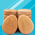 12 animals Tooth Box  for baby save MILK  TEETH  Wood storage box great gifts Constellation case creative for kids