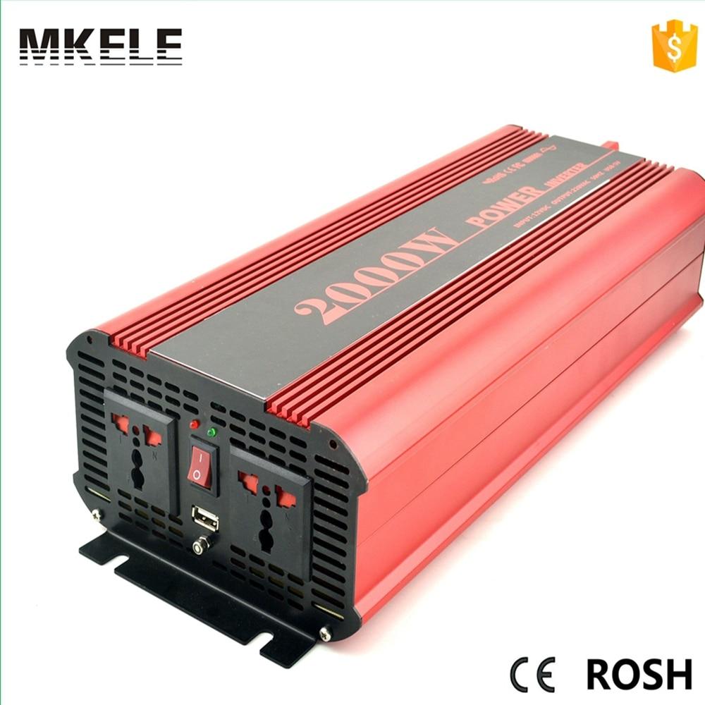 цена на MKP2000-242R type 24V dc ac inverter 230v 2000w inverter pure sine inverter,micro inverter solar made in China