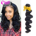 TMT 10A Brazilian Virgin Hair Loose Wave Virgin Hair 4 Bundles Cheap Brazilian Loose Wave Brazilian Hair Weave Bundle Loose Deep