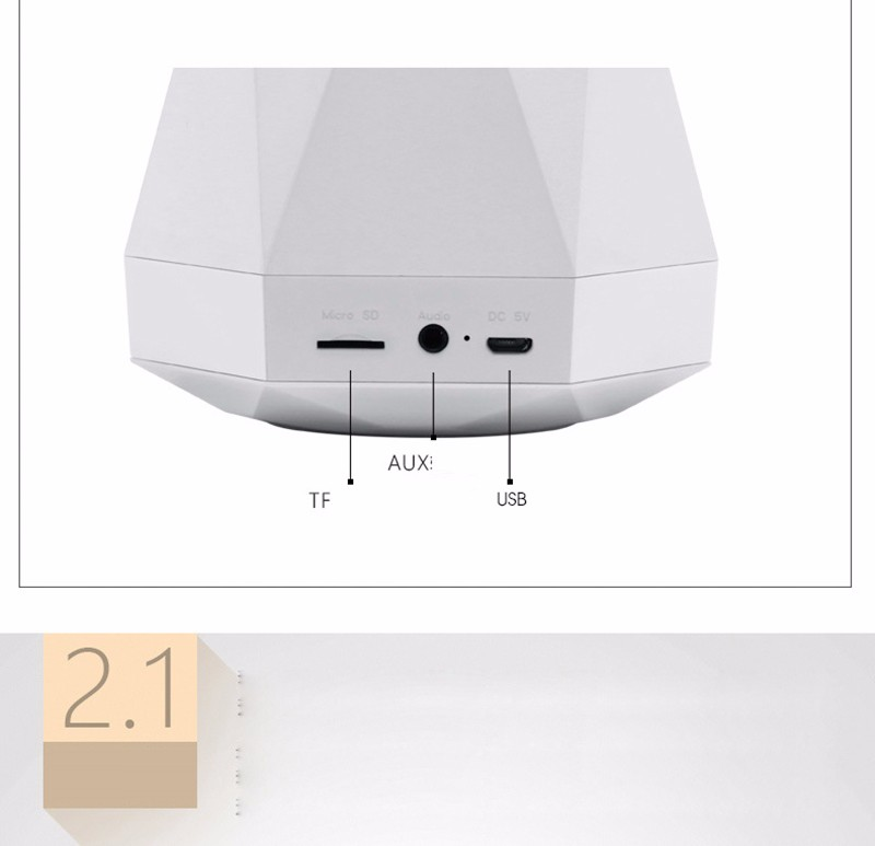 LED home furnishing atmosphere Bluetooth speaker lights 02 (5)